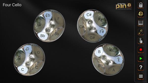 Four Cello Digital Pan Free